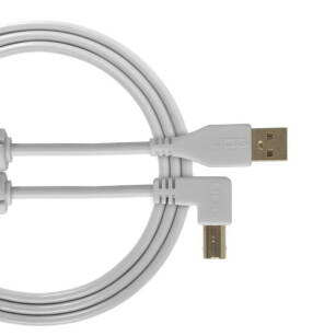 UDG Ultimate Audio Cable USB 2.0 A-B White Angled 3m