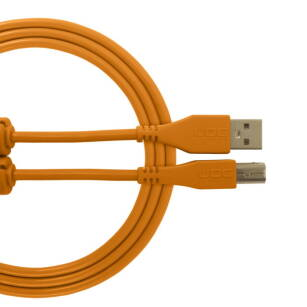 Kabel USB UDG Ultimate Audio Cable USB 2.0 A-B Orange Straight 3m (prosty)