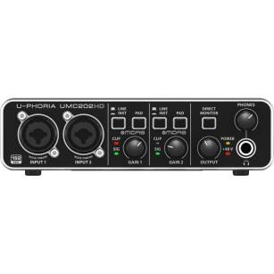 Behringer U-PHORIA UMC202HD - Interfejs Audio 2x2 USB