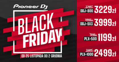 Black Friday z Pioneer DJ